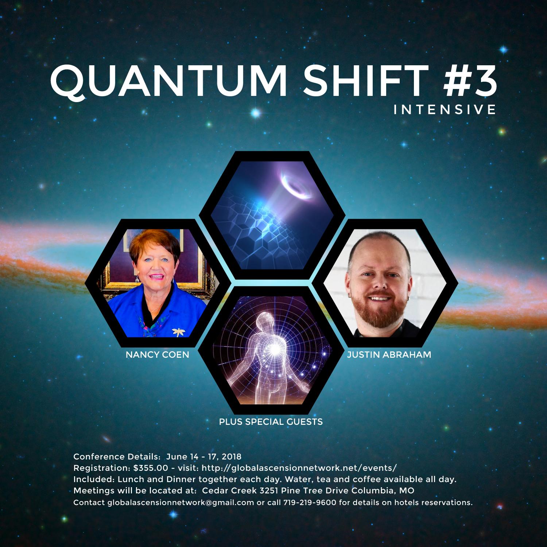 Quantum Shift #3 Intensive Live Recording Set
